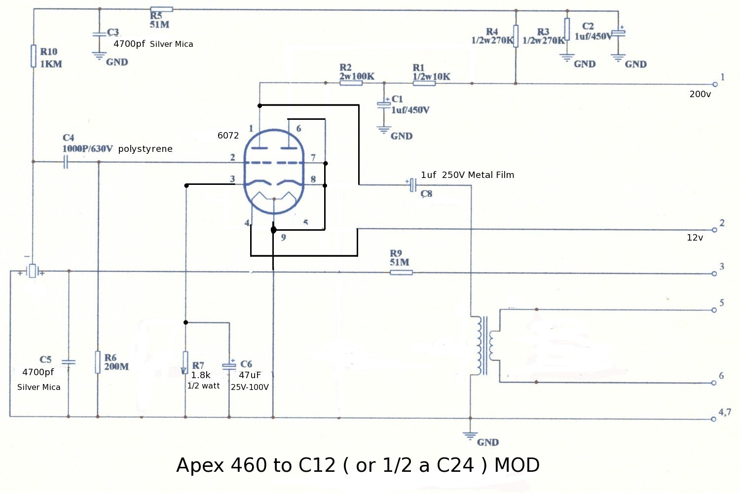 apex460 c12 mod apex 460 mod mark o matic llc apex vdm wiring diagram at soozxer.org